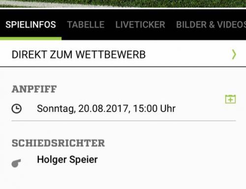 Heimspiel gegen SV Wolfgruben / Wilhelmshütte