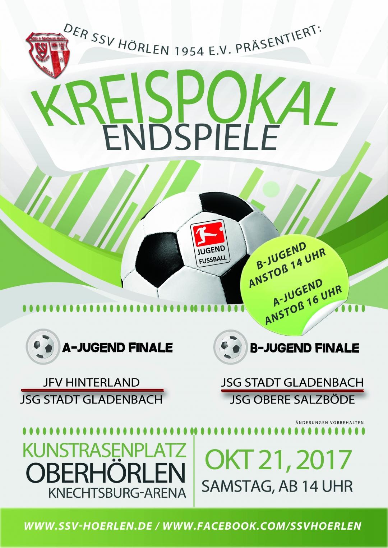Kreispokalendspiele am 21.10.2017