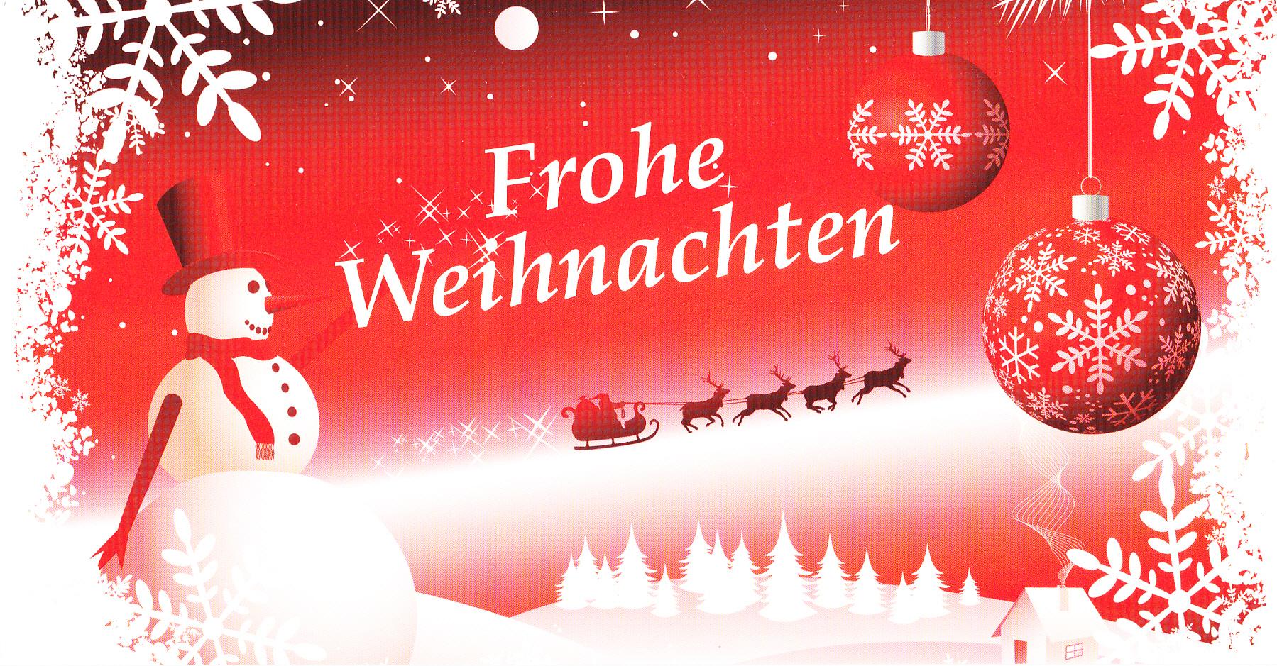 Frohe Weihnachten ;)